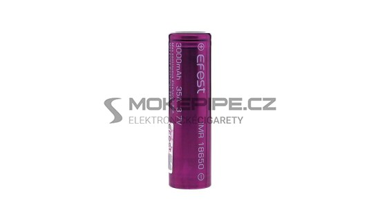 Efest IMR baterie typ 18650 3000mAh 35A