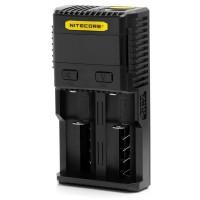 Nitecore SC2 - multifunkční inteligentní nabíječka baterií - 2 sloty