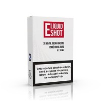 5 pack E-Liquid Shot Booster 50PG/50VG 20 mg/ml (5+1 ZDARMA)