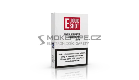 5 pack E-Liquid Shot Booster 30PG/70VG 20 mg/ml (5+1 ZDARMA)