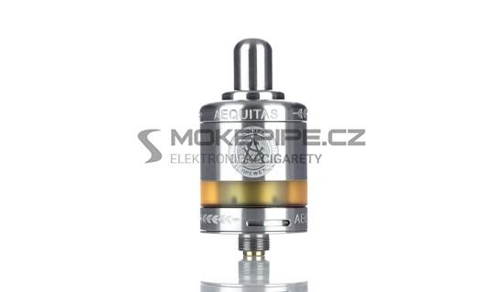Asvape Zeta MTL RTA clearomizér 2,5ml - Stříbrná