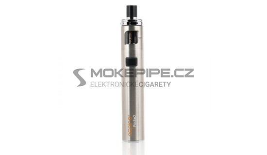 Aspire PockeX AIO elektronická cigareta 1500mAh - Stříbrná