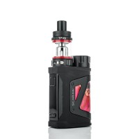 SMOK SCAR-MINI 80W Starter Kit - Red Stabilizing Wood