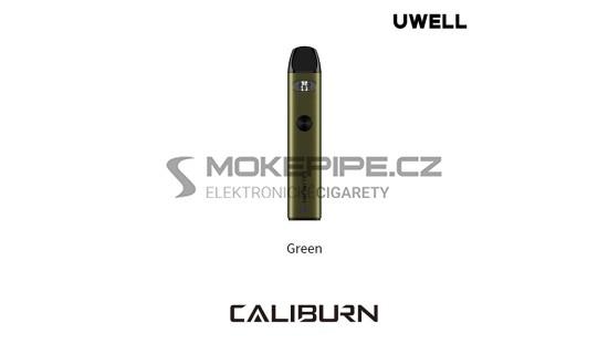 Uwell Caliburn A2 Pod Kit 520mAh - Zelená