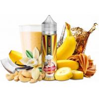 Příchuť PJ Empire Cream Queen S&V: Funky Monkey (Banánový milkshake s kešu ořechy) 20ml
