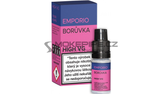 E-liquid Emporio High VG 10ml / 6mg: Borůvka