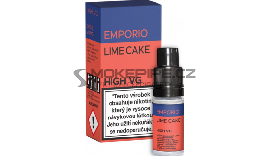 E-liquid Emporio High VG 10ml / 6mg: Lime Cake