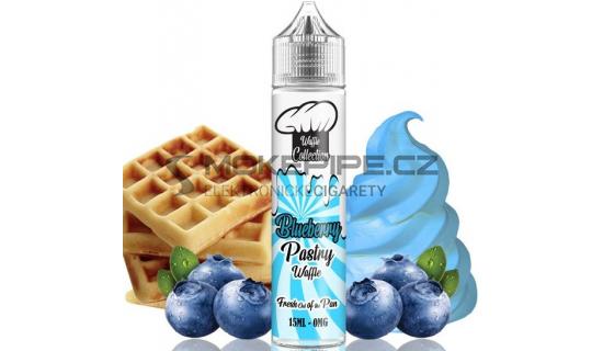 Příchuť Waffle Collection Shake and Vape: Blueberry Pastry 15ml