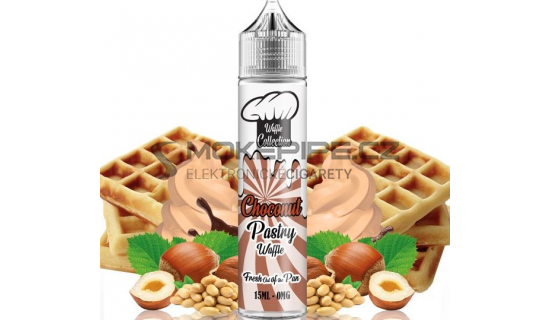 Příchuť Waffle Collection Shake and Vape: Choconut Pastry 15ml