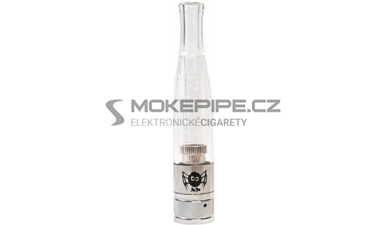 BuiBui GS H2S Dual Coil clearomizer 1,5ml 2ohm - Čirá
