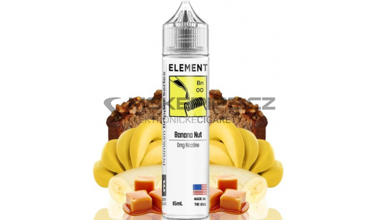 Příchuť Element Shake and Vape: Banana Nut 15ml