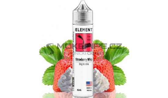 Příchuť Element Shake and Vape: Strawberry Whip 15ml