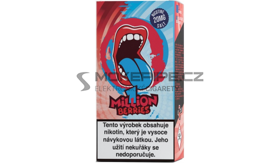 Liquid Big Mouth SALT One Million Berries 10ml - 20mg