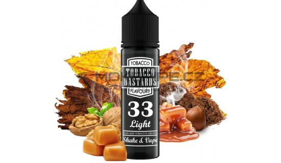 Příchuť Flavormonks Tobacco Bastards Shake & Vape: No.33 Light Tobacco 12ml