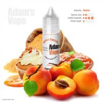 Příchuť Adams vape S&V: Apricot Cupcake (Sladký meruňkový cupcake) 12ml