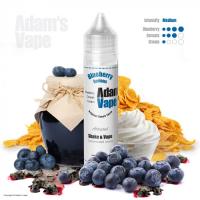 Příchuť Adams vape S&V: Blueberry Serious (Borůvkové cereálie s krémem) 12ml