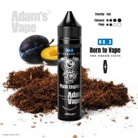 Příchuť Adams vape S&V: Plum Engine (Opravdový tabák se švestkou) 12ml