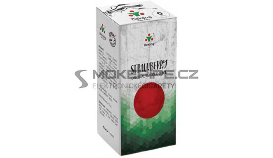 Liquid Dekang Strawberry 10ml - 0mg (Jahoda)