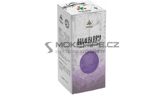 Liquid Dekang Blueberry 10ml - 0mg (Borůvka)