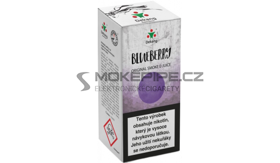 Liquid Dekang Blueberry 10ml - 16mg (Borůvka)