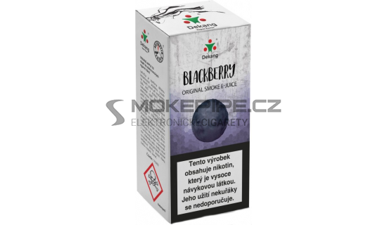 Liquid Dekang Blackberry 10ml - 16mg (Ostružina)