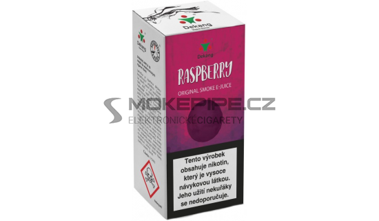 Liquid Dekang Raspberry 10ml - 6mg (Malina)