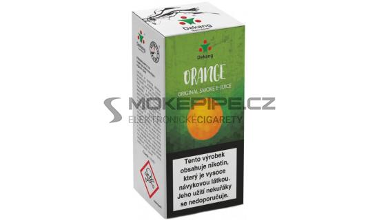 Liquid Dekang Orange 10ml - 18mg (Pomeranč)