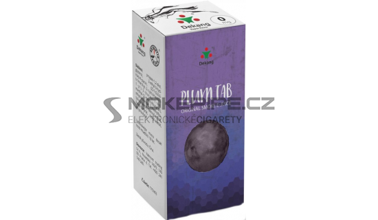 Liquid Dekang Plum TAB 10ml - 0mg (Sušená švestka)