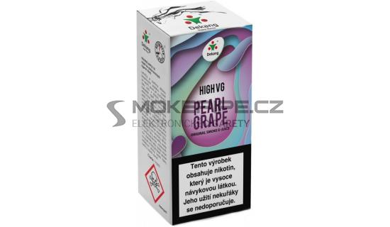 Liquid Dekang High VG Pearl Grape 10ml - 3mg (Hrozny s mátou)