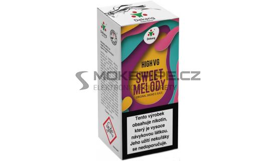 Liquid Dekang High VG Sweet Melody 10ml - 6mg (Broskev s citrónem)