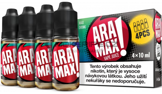 Liquid ARAMAX 4Pack Max Drink 4x10ml-3mg