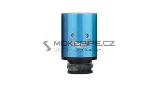 Aluminum POM Smile náustek pro clearomizer - Modrá