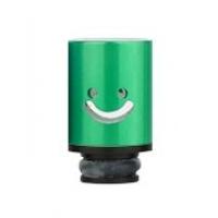 Aluminum POM Smile náustek pro clearomizer - Zelená