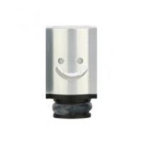 Aluminum POM Smile náustek pro clearomizer - Stříbrná