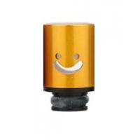 Aluminum POM Smile náustek pro clearomizer - Žlutá