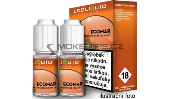 Liquid Ecoliquid Premium 2Pack ECOMAR 2x10ml - 0mg