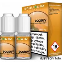 Liquid Ecoliquid Premium 2Pack ECORUY 2x10ml - 18mg