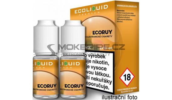 Liquid Ecoliquid Premium 2Pack ECORUY 2x10ml - 20mg