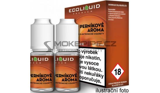 Liquid Ecoliquid Premium 2Pack Gingerbread tobacco 2x10ml - 3mg (Perníkový tabák)