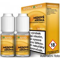 Liquid Ecoliquid Premium 2Pack Honey 2x10ml - 3mg (Med)