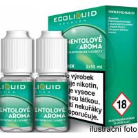 Liquid Ecoliquid Premium 2Pack Menthol 2x10ml - 20mg