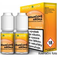 Liquid Ecoliquid Premium 2Pack Orange 2x10ml - 6mg (Pomeranč)