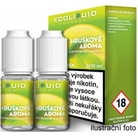 Liquid Ecoliquid Premium 2Pack Pear 2x10ml - 12mg (Hruška)