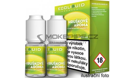 Liquid Ecoliquid Premium 2Pack Pear 2x10ml - 20mg (Hruška)