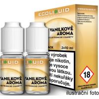 Liquid Ecoliquid Premium 2Pack Vanilla 2x10ml - 6mg (Vanilka)