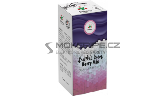 Liquid Dekang Bubble Gum Berry Mix 10ml - 0mg (Žvýkačka Lesní Plody)