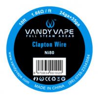 Vandy Vape Clapton Ni80 odporový drát (24GA + 35GA) - 3m