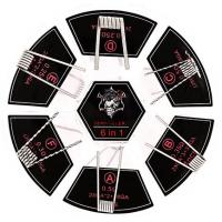 Demon Killer Sada předmotaných spirálek 6v1 SS316 - 24ks