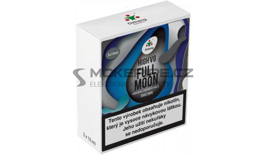Liquid Dekang High VG 3Pack Full Moon 3x10ml - 1,5mg