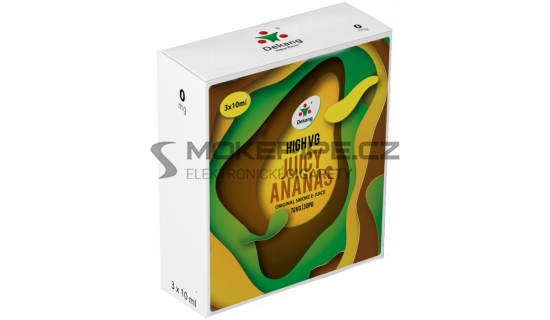 Liquid Dekang High VG 3Pack Juicy Ananas 3x10ml - 0mg
